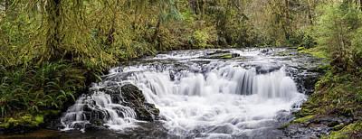 Photograph - Little Barrier Falls by Robert Potts