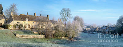 Photograph - Little Barrington In Winter Panoramic by Tim Gainey
