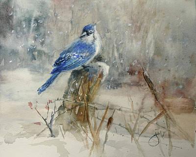 Painting - Little Blue by Jeri McDonald