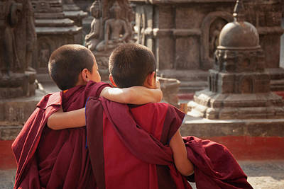 Little Buddhist Monks Original