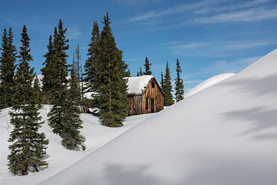 Photograph - Little Cabin by Angela Moyer
