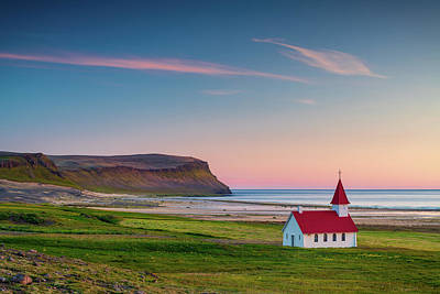 Photograph - Little Church On The Beach by Michael Blanchette