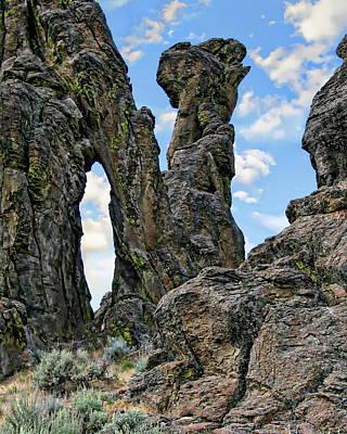 Photograph - Little City Of Rocks by Anthony Dezenzio