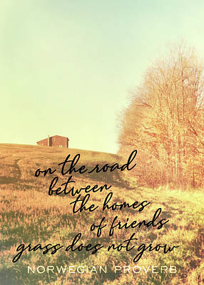 Little Getaway Quote Art Print by JAMART Photography
