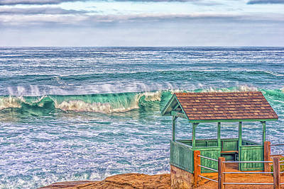 Photograph - Little Green Hut by Joseph S Giacalone