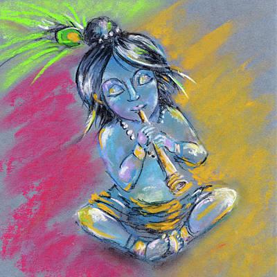 Indian Gods Modern Art