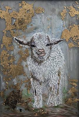 Painting - Little Lamb by Jeleata Nicole
