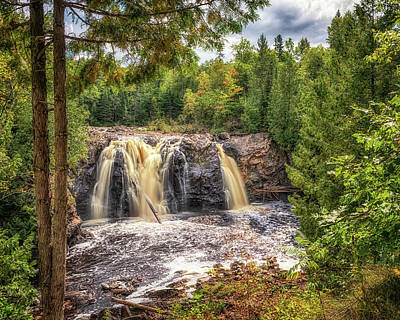 Photograph - Little Manitou Falls by Susan Rissi Tregoning