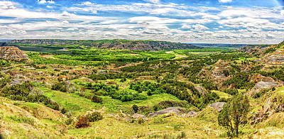 Photograph - Little Missouri River Oxbow Overlook by Gestalt Imagery