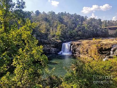 Photograph - Little River Canyon Falls Alabama by Rachel Hannah