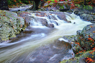 Photograph - Little River Rush by Greg Norrell