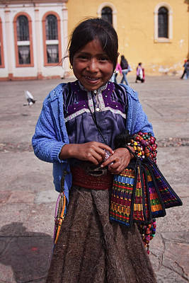 Photograph - Little Vendor by Tatiana Travelways