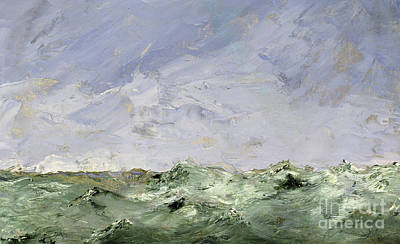 Painting - Little Water, Dalaro, 1892  by August Johan Strindberg