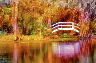 Photograph - Little White Bridge by Bill Barber
