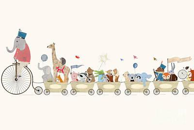 Littlest Playtime Art Print by Bri Buckley