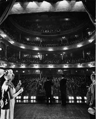 Photograph - Liverpool Audience by Bert Hardy