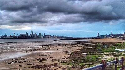 Photograph - Liverpool Skyline From Magazine Promenade by Joan-Violet Stretch