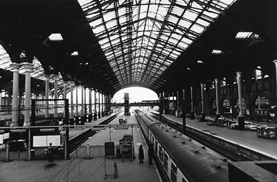 Photograph - Liverpool St Station by Evening Standard
