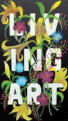 Drawing - Living Art by Kirsten Beitler