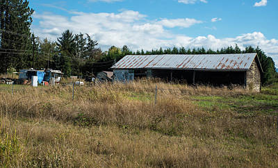 Photograph - Living In A Trailer In Skagit County by Tom Cochran