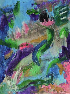 Mixed Media - Living In Joyful Chaos by Donna Blackhall