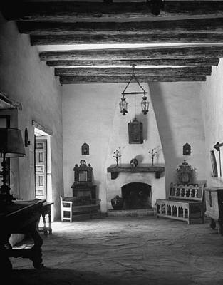 Photograph - Living Room In The Historic Governors by Alfred Eisenstaedt