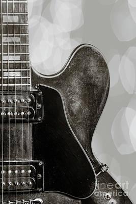Photograph - Living Room Wall Art Guitar 1744.013 by M K Miller