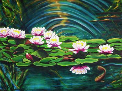 Painting - Living Waters by Claudia Klann