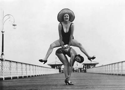 Photograph - Llandudno 1935 by Hulton Archive