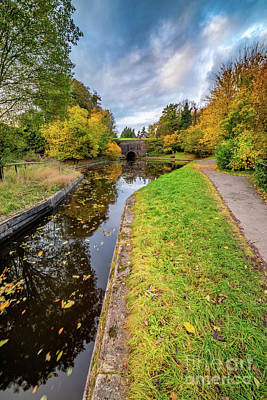 Photograph - Llangollen Canal Tunnel by Adrian Evans