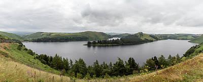 Photograph - Llyn Clywedog Lake In Wales Uk  by John McGraw