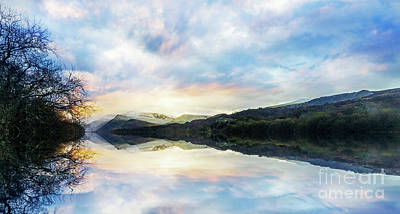 Photograph - Llyn Padarn by Ian Mitchell
