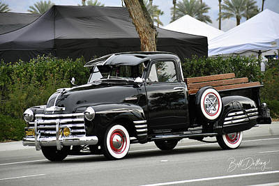Photograph - Loaded Chevy Pickup by Bill Dutting
