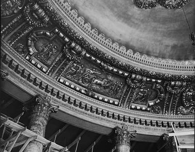 Photograph - Lobby Ceiling Of The Roxy Theatre by Hulton Archive