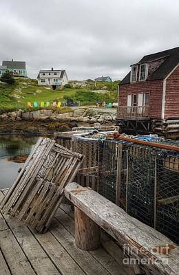 Photograph - Lobster Traps by Mary Capriole