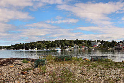 Photograph - Lobster Traps On Bailey Island  by Sandra Huston