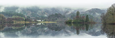 Photograph - Loch Achray Panorama by Raymond Carruthers