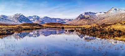 Photograph - Loch Ba Panorama by John Frid