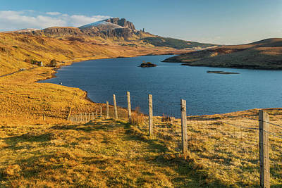 Photograph - Loch Fada, Isle Of Skye by David Ross