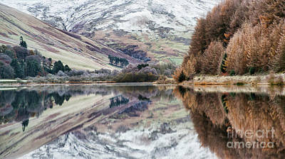 Art Print featuring the photograph Loch Of The Lowes Winter by Tim Gainey