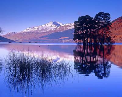 Loch Tay, Kenmore, Scotland Uk Art Print by Kathy Collins