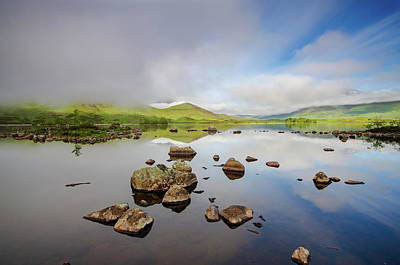 Mixed Media - Lochan Na Stainge by Smart Aviation