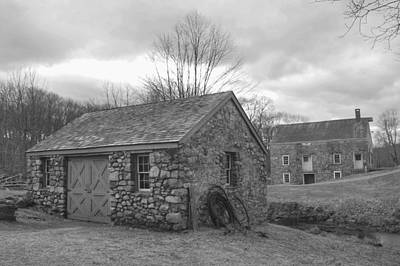 Photograph - Lock House And Store - Waterloo Village by Christopher Lotito