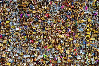 1-war Is Hell Royalty Free Images - Locks of Love for Paris Royalty-Free Image by Darren White