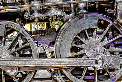 Photograph - Locomotive 720 by David Ralph Johnson