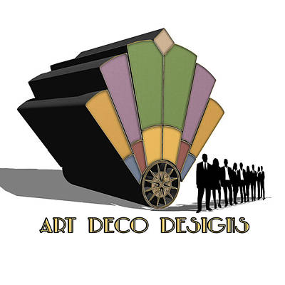 Digital Art - Logo by Chuck Staley