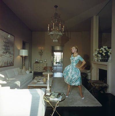 Photograph - Lola Albright by Slim Aarons