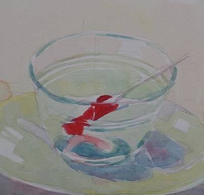 Painting - Lolly On A Plate  by Jo Mackenzie