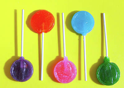 Photograph - Lolly Pops by Perry Correll