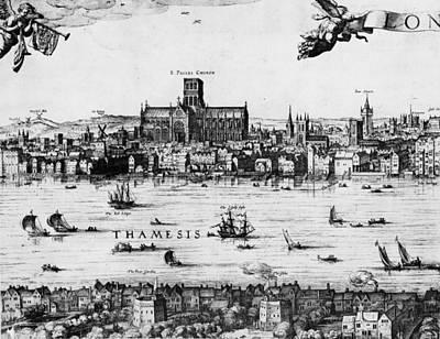 London 1616 Art Print by Hulton Archive